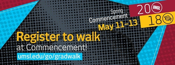 Register to Walk at Commencement