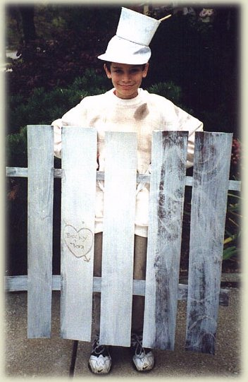 Mike as Tom Sawyer's Fence