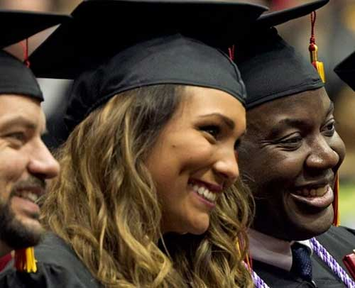 UMSL graduates
