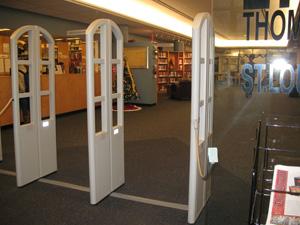 Thomas Jefferson Library Security Gates