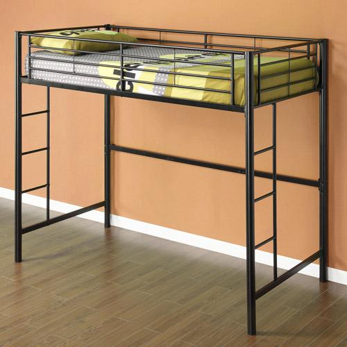 loft information - Metal Frame Loft Bed