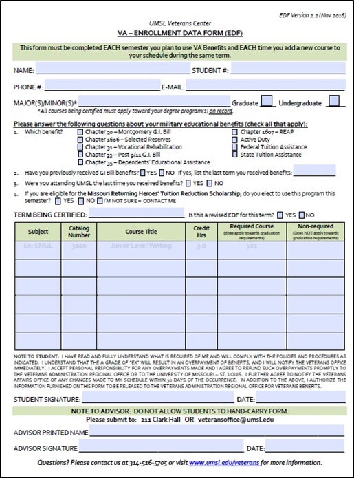 Enrollment Form Application Form Executive Mba Enrollment Form